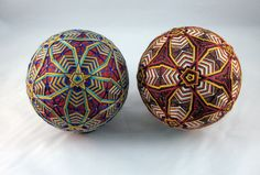 temari balls instructions - Google Search