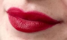 Bourjois velvet rouge edition grand cru | similar to hourglass's icon. I can assure you that it is even darker red in real life!