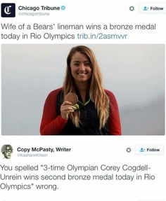She's more than his wife by her own efforts. 2 athlete found each other