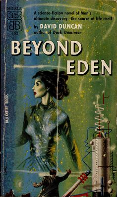 Beyond Eden, book cover. David Duncan not to be confused with Canadian SF author Dave Duncan.
