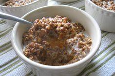 Pumpkin Crunch Casserole or Breakfast Pudding Recipe : substitute sweetner to make Gaps friendly