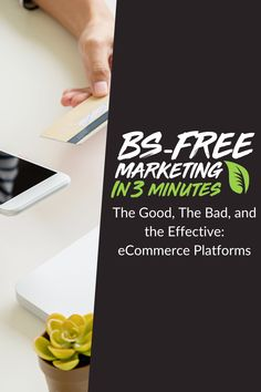 E-Commerce is a booming business at the moment and it makes perfect sense. Consumers don't want to take time out of their already busy day to go to a brick a. Perfect Sense, Free Market, Ecommerce Platforms, Search Engine, Digital Marketing, Brick, Laptop, Good Things, Touch