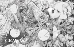 #beautifulbizarre Issue 008 in-design sneak peek: the double page spread that begins Craww's 12 page editorial xo  See the uncensored version on our Twitter https://twitter.com/BeautifulBzarre or Tumblr http://beautifulbizarremag.tumblr.com/ feeds