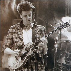 Big Country, Dunfermline, Scotland - early to mid-1980s Lead singer Stuart Adamson died 16 December 2001.