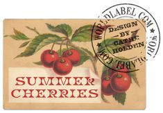 Free Cherry Labels