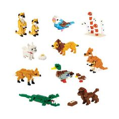 Nanoblock — Mixed set of 10 animal Nanoblock kits. Nanoblock™ is a revolutionary Japanese invention that brings block building to a scale never seen before. The smaller the blocks, the greater the detail. Each set comes with instructions that create a range of tiny animals, miniature musical instruments and architectural landmarks from around the world — nanoblock.com.au • Subscribe at thebigdesignmarket.com for your chance to win.