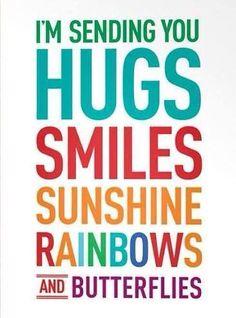 Sending Hugs Quotes