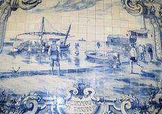 Nesta hora: Azulejos do Mercado do Livramento, em Setúbal (I)