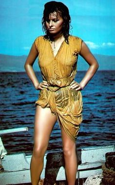 """Sophia Loren - in 'A Boy on a Dolphin' c. 1955 """""""