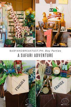 Safari Adventure | Animals | Safari | Birthday Party | Baby and Breakfast | http://babyandbreakfast.ph/2017/02/02/safari-adventure/