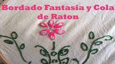 Bordado Fantasia Y cola de Raton