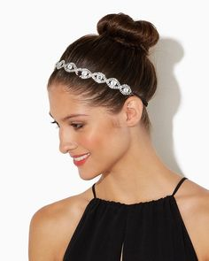 Rhinestone Design Hair Wrap | Accessories - RSVP Special Occasion | charming charlie