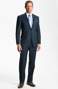 Canali Wool Suit | Nordstrom - Fun and slightly different