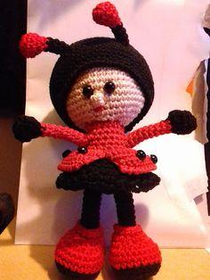 Ravelry: angela1983's Ladybug doll #littleowlshut #crochetpattern #amigurumi #amigurumidolls #doll #stelmakhova_galina #crochetpattern #crochetlove #amigurumi #littleowlshut #Patterns #Crochet #etsy #handmade #crochettoys #crocheting #handcrafted #handcraft #knittersofinstagram #crochetaddict #crochetdoll #Stelmakhova #crochetingisfun #craftastherapy #crocheteveryday #crochetlover #amigurumilove #ladybird #ilovecrochet #ladybug #insect