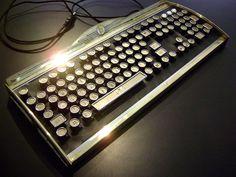 Typewriter Keyboard.
