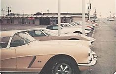 CenTex Corvette Club meeting, May 1976, at the old Poppa Rollo's Pizza location in Waco, TX.