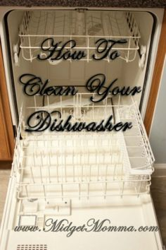 How To Clean a Dish Washer
