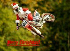 Dirtbike Santa