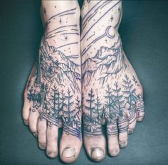 Great Falls-based tattooist Noel'le Longhaul has gained thousands of followers on social media with their bewitching art. We talked to them about going into the deep, dark woods.