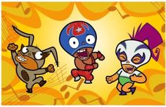 """This week's minorities in cartoons entry is """"Mucha Lucha!,"""" an animated series that aired on Kids WB from 2002 to """"Mucha Lucha! Right In The Childhood, Childhood Tv Shows, 90s Childhood, My Childhood Memories, Childhood Photos, Best Cartoons Ever, Cool Cartoons, Old Cartoons 90s, Old Tv Shows"""