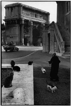 Gatti, Rome 1959. Henri Cartier-Bresson
