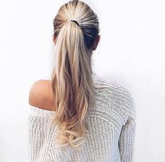 Ponytail goals!