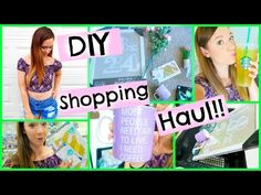 DIY SHOPPING HAUL!!! + BUYING CRAFT SUPPLIES!!! - YouTube @alishastarbies #alisha marie