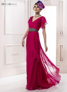Vestido de fiesta. Colección 2014 #byManuGarcia