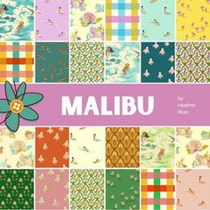 Malibu Half Yard Bundle | Heather Ross