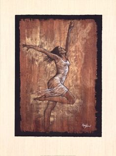 Dance of Joy I at FramedArt.com