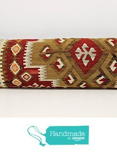Turkish Lumbar kilim pillow cover 10x28 inch (25x70 cm) Rustic Kilim pillow cover Oriental Pillow cover Kilim Cushion Cover from Kilimwarehouse http://www.amazon.com/dp/B01AUWZ63I/ref=hnd_sw_r_pi_dp_Wwzrxb0D6VH89 #handmadeatamazon