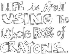 Middle School Mash Up: Inspiration Quote and Verse coloring sheets ...