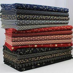 SB Nihon-no Japanese Cotton Fabric Japanese Quilt Patterns, Japanese Patchwork, Japanese Quilts, Japanese Textiles, Japanese Cotton, Japanese Fabric, Patchwork Ideas, Ajrakh Prints, Fabric Photography