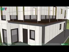 3D SIP building animation - YouTube