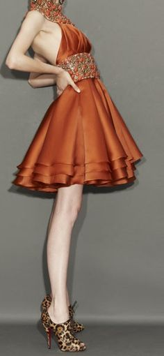 orange fashion | Keep the Glamour | BeStayBeautiful