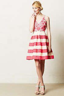 Anthropologie - Azalea Stitched Dress
