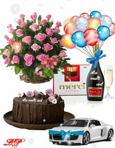Happy Birthday, Birthday Cake, Happy Mothers Day, Globes, Birthday, Happy Brithday, Urari La Multi Ani, Birthday Cakes, Happy Birthday Funny