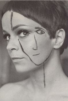Saul Steinberg-illusion    Which face is more reflective of the real person? Who do you like better?