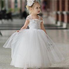 Tuille dress by Dollcake Vintage #dollcakevintage #floralgirlsdress #floralgirl