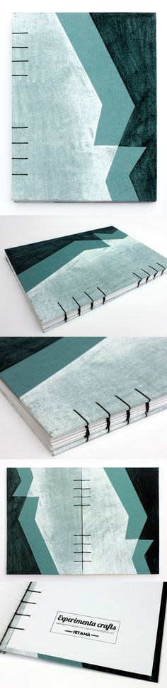 Experimenta crafts coptic bookbinding encuadernacion copta handmade in barcelona