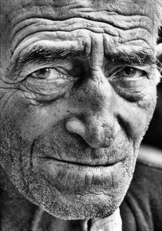 Another great face. They say that at the beginning of your life you have the face you inherited from your parent but by the time you reach 40 it is the face you have earned.