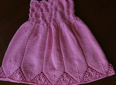 Completed : June 2008   Pattern : my own    Notes : This dress is knit from the top down and uses a bit of shirring in the bodice to ensur...