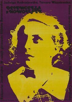 Dziewczęta z Nowolipek/Girls from Nowolipki - Polish movie, 1937  #movies #posters #Polish #Poland #1930s