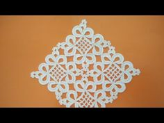 Yeni DANTEL Motifi 2 ve 3 Kenar Eklenişi - YouTube Crochet Table Runner Pattern, Crochet Motif Patterns, Crochet Diagram, Crochet Squares, Filet Crochet, Irish Crochet, Crochet Designs, Crochet Baby, Thread Crochet