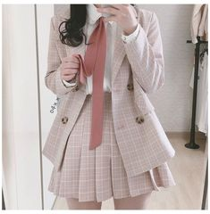 Korean Girl Fashion, Ulzzang Fashion, Kpop Fashion Outfits, Edgy Outfits, Korean Outfits, Cute Casual Outfits, Cute Fashion, Look Fashion, Korean Style Dress