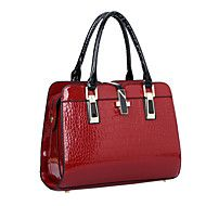 Women+Bags+All+Seasons+Patent+Leather+Shoulder+Bag+Tote+for+Event/Party+Shopping+Casual+Formal+Office+&+Career+Black+Beige+Blue+Wine+–+CZK+Kč+1+740