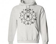 sudadera eyesimmetric 100% algodón, pentagrama. www.eyesimmetric.com #skate #skateboard #skateshop #skateordie #sk8 #skatewear #skateclothing #hoodie