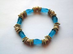 Unique handcrafted Venetian Glass Bracelet