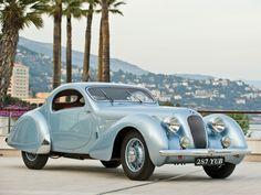 """masterpiston: """" 1938 Talbot-Lago T23 Teardrop Coupe. """""""