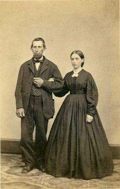 Man and Woman - Civil War Era